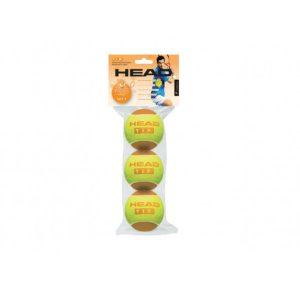 Мячи теннисные Head T.I.P. ORANGE (3)
