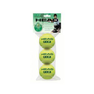 Мячи теннисные Head T.I.P. GREEN (3)
