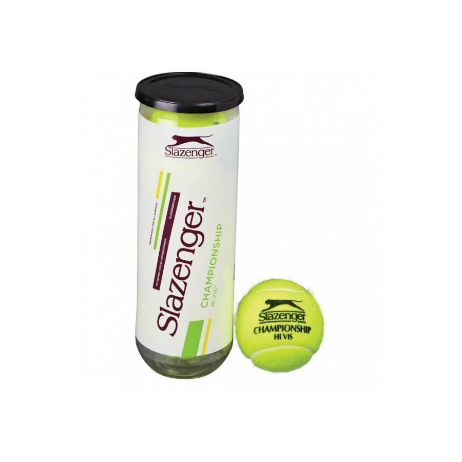 Мячи теннисные SLAZENGER Championship Hi-Vis (3)