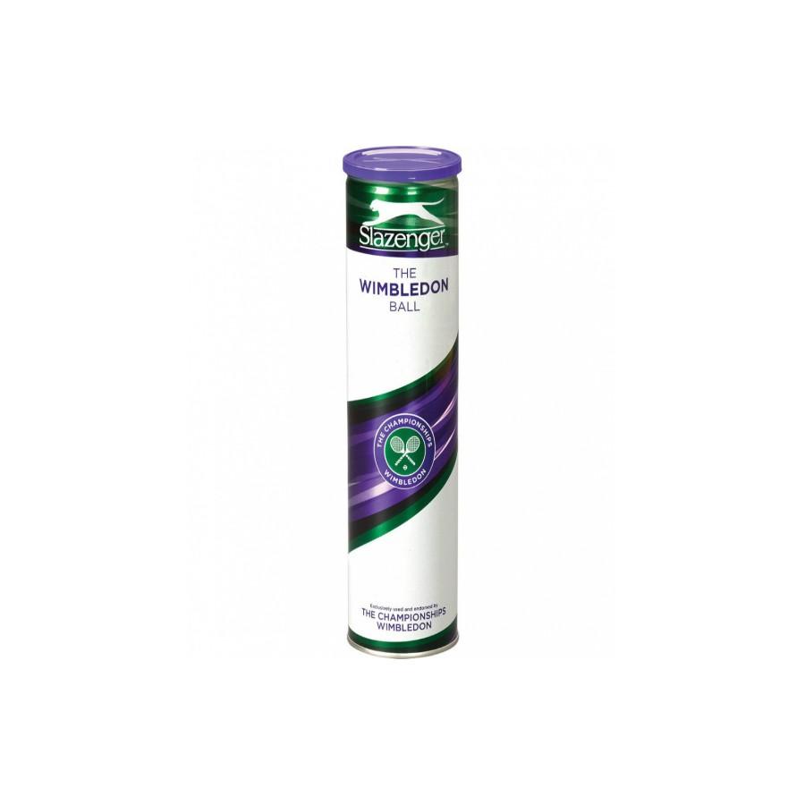 Мячи теннисные Slazenger Wimbledon Ultra Vis (4)