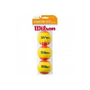 Мячи теннисные Wilson Starter Orange (3)