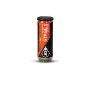 Мячи теннисные DUNLOP Stage 2 orange (3)