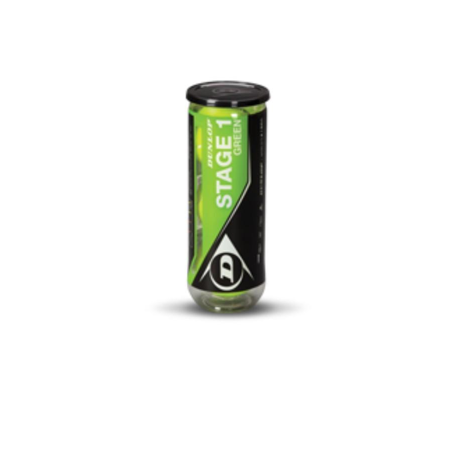 Мячи теннисные DUNLOP Stage 1 green (3)