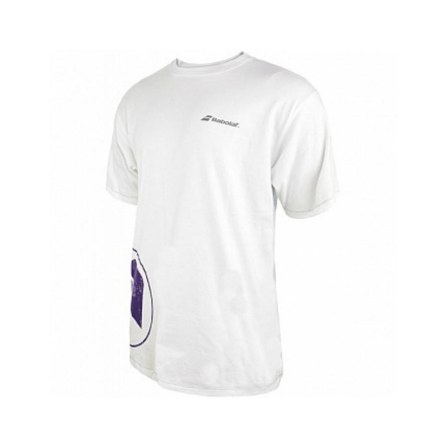 Футболка Babolat Boy Training Basic Wimbledon